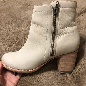 Frye boots with heel Sz 8